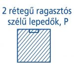Hartmann Foliodrape Izoláló lepedő rag.széllel P 90x100 cm 30db