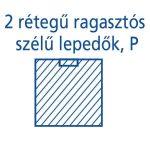 Hartmann Foliodrape Izoláló lepedő rag.széllel P 170x175 cm 13db