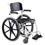"""McWet, Tusoló- és WC szék, önhajtos 24"""" kivehető kerékkel"""