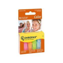Ohropax Color füldugó 8db (4pár)