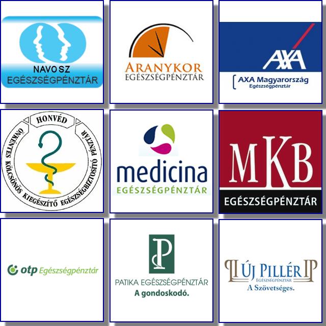 Szerződött egészségpénztári Partnereink
