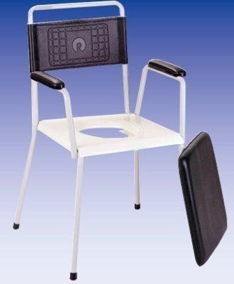 Tusoló Wc szék, fix lábú (HCDA)
