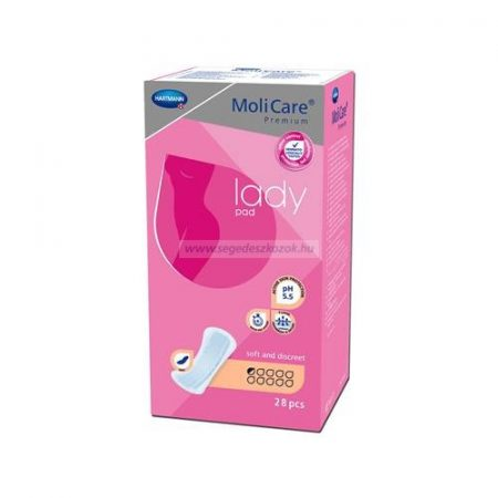 Hartmann Molicare lady pad - ultra micro 0,5 cseppes betét (70 ml)  28db (Molimed)