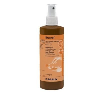 Braunol bőr- és nyálkahártya fertőtlenítő 250 ml