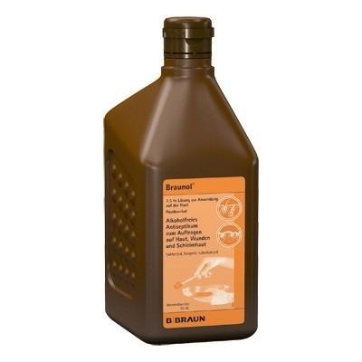 Braunol bőr- és nyálkahártya fertőtlenítő 1000 ml
