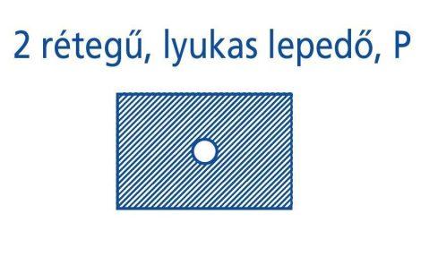 Hartmann Foliodrape Lyukas izoláló lepedő P 45x75 cm 65db