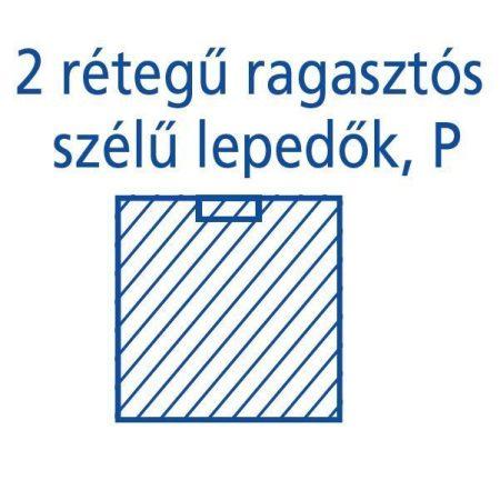 Hartmann Foliodrape Izoláló lepedő rag.széllel P 75x90 cm 40db