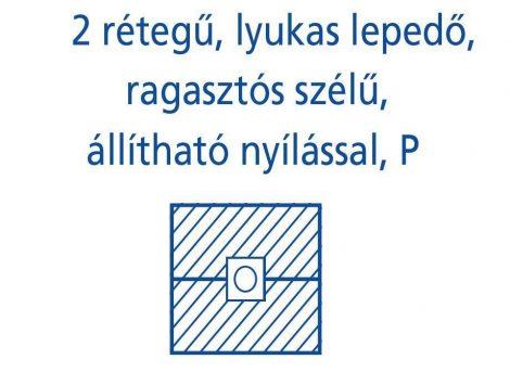 Hartmann Foliodrape Izoláló lepedő rag.szélű állítható lyukkal P 45x75 cm 65db