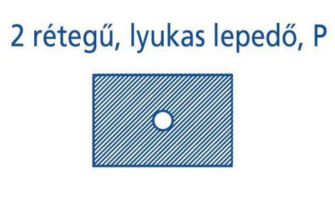Hartmann Foliodrape Lyukas izoláló lepedő P 50x60 cm 70db