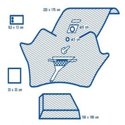 Hartmann Foliodrape  TUR szett  P  8db