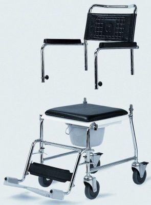 Tusoló Wc szék, gördithető (HCDA)