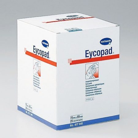 Hartmann Eycopad, steril 70x85 mm 25db