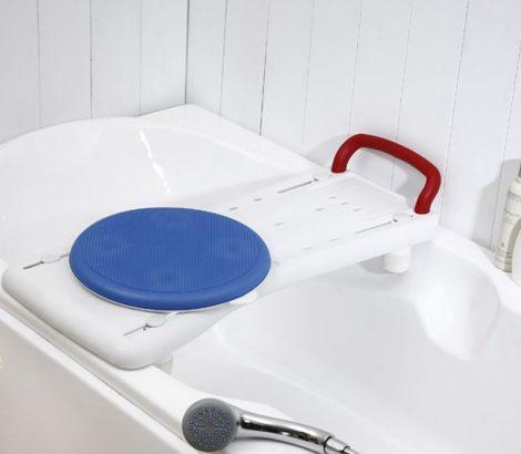 PRIM U337 fürdőkád pad, forgó koronggal
