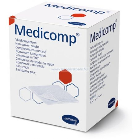 Hartmann Medicomp Drain steril, 6 rétegű 10x10 cm 25x2db