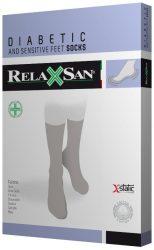 RelaxSan X-Static Ezüstszálas Zokni