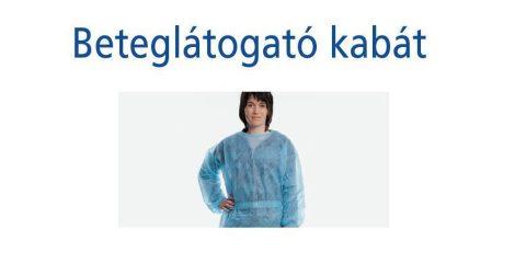 Hartmann Foliodress S Beteglátogató kabát nem steril, kék nem steril 50db