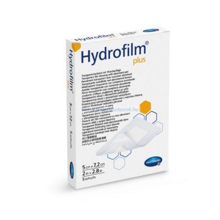 Hartmann Hydrofilm Plus filmkötszer sebpárnával 5x7,2 cm 5db
