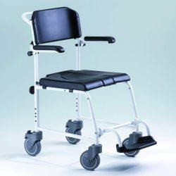 """McWet, Tusoló- és WC szék, 5"""" kerékkel"""