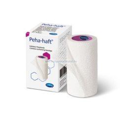 Hartmann Peha-haft pólyák, 8cmx4m nyújtva 4 m hosszú, egyenként csomagolva latex mentes 8cmx4m