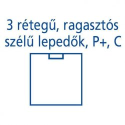 Hartmann Foliodrape Izoláló lepedő rag.széllel P+ 75x90 cm 27db