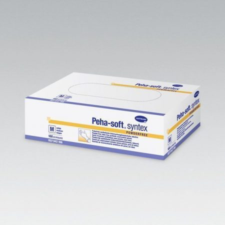Hartmann Peha-soft syntex kesztyű L méret 100db