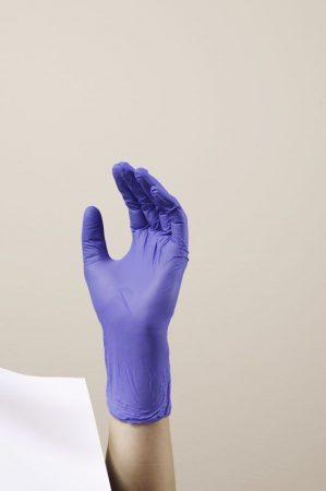 Hartmann Peha-soft nitrile kesztyű  lila XS 100db