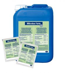Hartmann Mikrobac forte 20ml, tisztító- és felületfertőtlenítő koncentrátum 250db