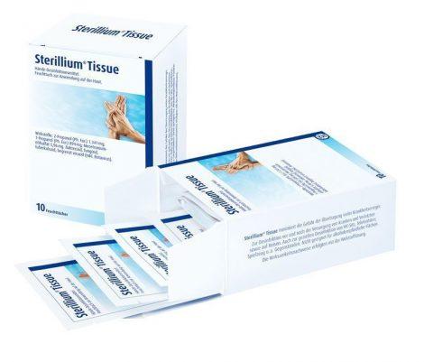 Hartmann Sterillium kézfertőtlenítő kendő 15db
