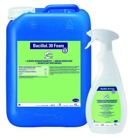 Hartmann Bacillol 30 Foam gyors felületfertőtlenítőszer 5l