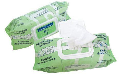 Hartmann Mikrobac Tissues felületfertőtlenítő-kendő  80db