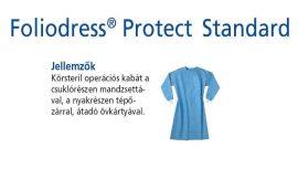 Hartmann Foliodress műtéti kabát Protect Standard körsteril, krepp+törlővel  XXL 28db