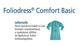Hartmann Foliodress műtéti kabát Comfort Basic hátul megkötős L 28db