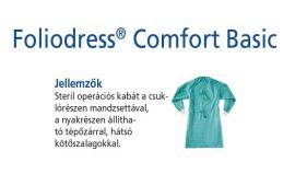 Hartmann Foliodress műtéti kabát Comfort Basic hátul megkötős XL 28db
