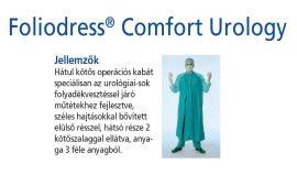 Hartmann Foliodress műtéti kabát Comfort Urologia, krepp+törlővel L 28db