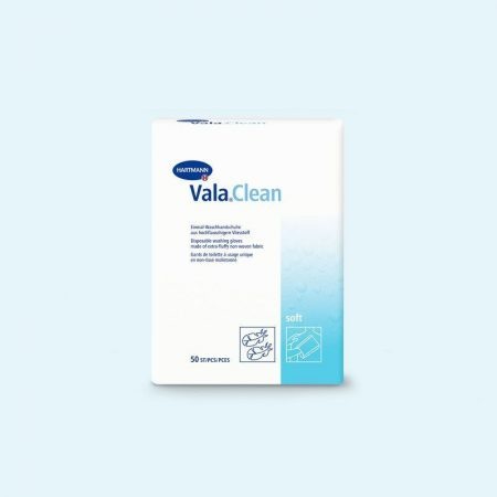 Hartmann Vala Clean film egyszer használatos mosdatókesztyű 50db