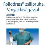 Hartmann Foliodress zsilipruha kék L  1db