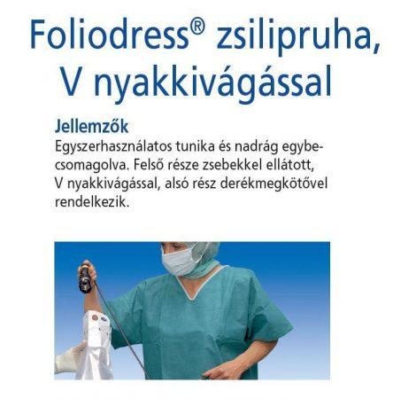 Hartmann Foliodress zsilipruha zöld XXL  1db