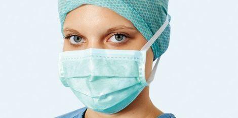 Hartmann Foliodress műtéti szájmaszk Senso Protect zöld 50db