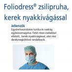 Hartmann Foliodress zsilipruha kék Protect L  1db