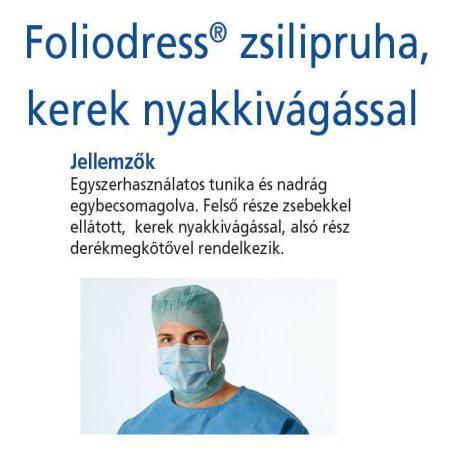 Hartmann Foliodress zsilipruha zöld Protect S  1db