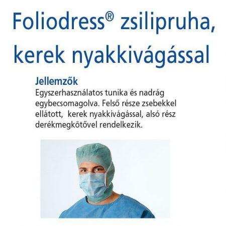 Hartmann Foliodress zsilipruha zöld Protect XXL  1db