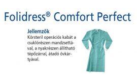 Hartmann Foliodress műtéti kabát Comfort Perfect körsteril, krepp+törlővel L 28db