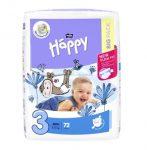 Bella baby happy egyszer használatos pelenka (big pack) 5kg-9kg  - 72db