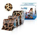 ACUTOP Design Kineziológiai Tapasz / Szalag 5 cm x 5 m Leopárd