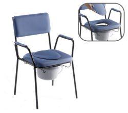 Tusoló Wc szék, gördithető (HCDA) Gyógyászati segédeszköz