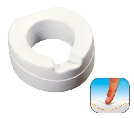 Thuasne soft WC magasító tető nélkül, 11 cm, puha, habszivacs belső